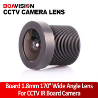 Lens Mount Board 1.8mm 170 Degree Wide Angle CCTV IR Board Camera Lens