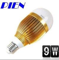 Free Shipping Globe Bulb 9W E27 | GU10 SMD LED bulb Light LED lamp 85V-265V Cool white| Warm White 5pcs/lot