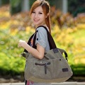 free shopping 2012 new Canvas fashion female leisure female bag  shopping  Single inclined shoulder bags