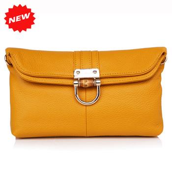 2014 New Women Multifunctional Handbag Genuine Leather Day Clutch Bag+Shoulder+Tote+Messenger Bag, 4 Wearing Ways, YB-YH6105