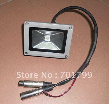 10W RGB DMX flood light,DC12V input