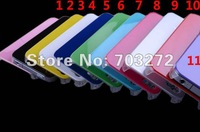 10 different colors Cell phone cases High Quality Gilding Hard Plastic Case for iPhone 4 4S 10pcs/lot Freeshipping