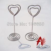 Free Shipping 15pcs Wedding Gift Wedding Seats Clip Creative Name Card Holder Silver