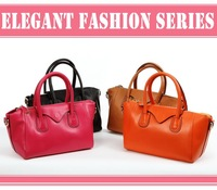 Free Shipping! GENUINE LEATHER women handbag multi-color shoulder bags wholesale 7310