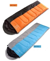 1person   cotton  outdoor sleeping bag,200g filling ,Splicing sleeping bag