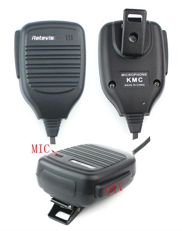 2 PIN Handhelp PTT Speaker Mic Microphone C9001A for WalkieTalkie Kenwood RADIO Two way CB Ham Radio Eshow(China (Mainland))