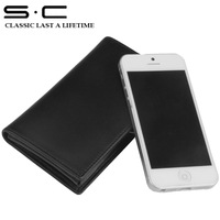 Holiday sale! S.C Free Shipping Wholesale - Case for iphone wallet/accessories for iphone 5  wiht gift box pakcage W12PC0035