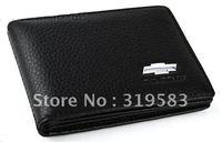 Chevrolet Auto Car Black cowhide driving license Credit Card Holders Bag Quality Gift Cruze Matiz Kalos Lacetti Aveo Epica Lanos
