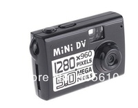Smallest HD Digital Video Camera720*480 Mini DV DVR#8175 with card slot without retail box