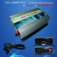 1000w grid tie inverter for solar panel system DC 22v-60v  to AC 190v-260v