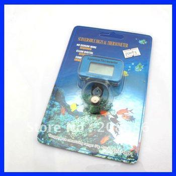 Free Shipping  Waterproof Aquarium Fish Tank LCD Digital Thermometer Water Marine  DS0093