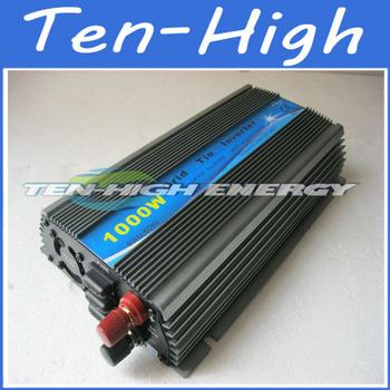 Fedex freeshipping! 1000W/1KW Grid Tie Inverter for solar panel, Pure sine wave Power Inverter