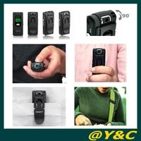 4GB professional voice recorder mini video camcorder mini DVR with rolating camera