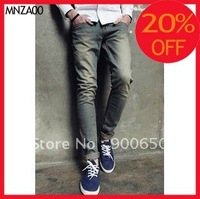 2012 New Men Fashion Fitted Jeans In Mid Wash     MNZA00