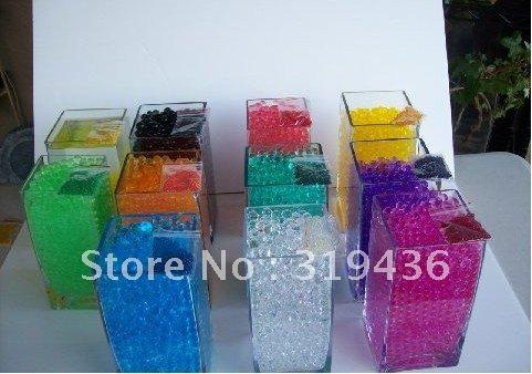 Buy free shipping colorful crystal for Aquarium vase decoration
