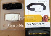 Ultrasonic Flea pest repeller For dog cat pet pets free shipping Hotsale best Price