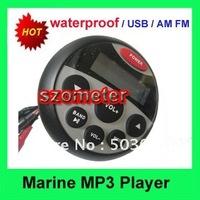 Hot Sale Waterproof Marine Radio MP3 player USB  for yacht / boat / saunaroom