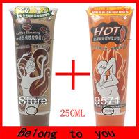 2 PCS (1 Cafe +1 Chilli ) YILI BALO 250ML Body Slimming Cream Massage Weight Loss Gel