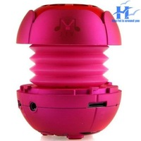 Mini speakers  card Hamburg  portable  outdoor sound rose pocket gift Rechargeable Portable Speaker for ipod