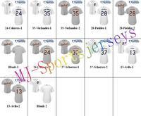 Free shipping-Wholesale Detroit Tigers Team White/Grey jerseys,Tigers jerseys,10Pcs/Lot