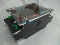 15 inch LCD Table Cocktail Machine With Classical games 60 in 1 Game PCB and With Long shaft joystick and Illuminated button