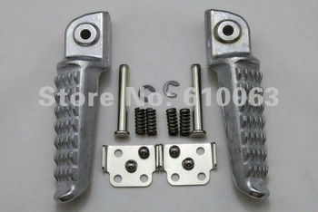 motorcycle foot pegs Kawasaki Ninja ZX6R 03-11   ZX10R 04-11   Rear Footrest Foot Pegs Aluminum