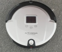Only for Russian Thin Body Working 2 Hours Robot Rommba Vacuum cleaner