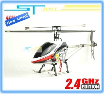 Supernova Sales Single blade dh9117 rc helicopter 4ch 2.4g Double Horse 9117 helicopter remote control Light and USB toy