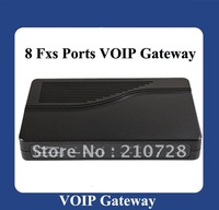 Freeshipping VoIP Gateway with 8 FXS Ports