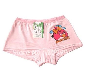Girl's briefs Fashion briefs  Bamboo fiber briefs(12pieces)Children's underwear Pants kids underwear