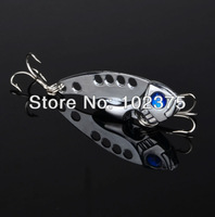 New Design jointed Metal Lure 5pc fishing tackle 4.3cm/6.8g Fishing Lure Spoon Metal Lures for Fishing hard bait Free Shipping