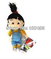 2012 Lastest Wholesale Despicable Me Plush Toys the cute girl  Agnes toys 30pcs/lot