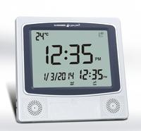 Brand new arrived  Azan prayer clock / Fajr alarm 1150 cities 4010 . Islamic Quran Muslim 10pcs /lots free shipping cost
