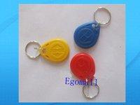 Free shipping 100pcs RFID Smart Card Of ID Keyfobs,125KHz Rfid Card, Rfid tag, bule red yellow S378