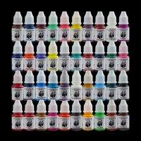 Wholesale - Sale! Panda Tattoo Ink 40 Colors Set 8ml /Bottle Tattoo Pigment Kit TI513