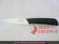 """Free Shipping! High Quality 4"""" Ikon Ceramic fruit knife New 100% Zirconia Ceramic Knife(AJ-4001W-CB)"""