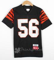 Supreme football shirts red black blue for choose sports tee Supreme Clothing free ship soccer training t shirt