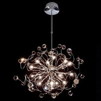 Artistic Crystal Chandeliers Light with 20 Lights  Pendant Lamp For  Indoor Lighting