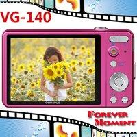 Original Olympus VG-140 VG140 14.0 MP Digital Camera Free Shipping
