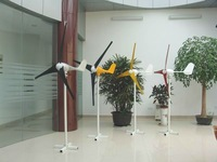 horizontal axis small wind generator 500w ac 12v/24v