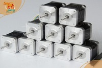 Hot Sell! Wantai 10 PCS Nema 17 Stepper Motor 42BYGHW811 70oz-in 48mm 2.5A CE ISO ROHS CNC Router Mill Cut Laser Engraving