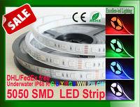 LED underwater strip 5050 waterproof IP68 +TUBE+epoxy resin 72w ,5m 300led flexible lighting