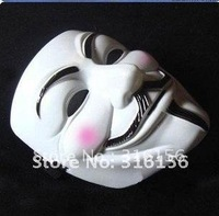 occupy anonymous Delicated  V vendetta team guy fawkes masquerade masks Halloween carnival  Mask  1pc/lot CPAM free shipping