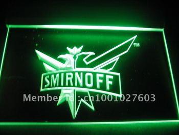 w3401 Smirnoff Vodka Bar Pub Neon Light Sign