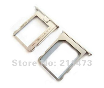 Hot Sales!For iPhone 4,4S Sim Card Slot Tray Holder by free shipping,10pcs/lot