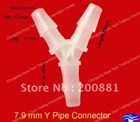 7.9mm(5/16'')  Y plastic pipe connector,hose connector,pipe fittings