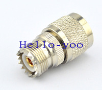 Free shipping! 10pcs/lot  N - UHF adapter UHF(L16) Jack female to N Plug male straight connector