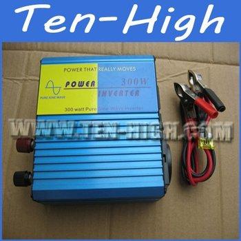 Fedex freeshipping! 300W Off Grid Pure Sine Wave Power Inverter, 600w Peak power inverter