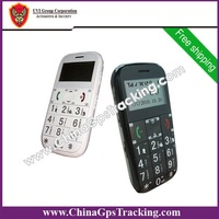 DHL Free Shipping! 2pcs/lot Personal GPS Phone Tracker for old / elder people PT503