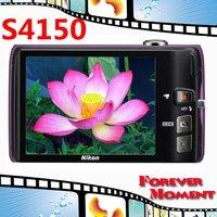 S4150 Original Nikon COOLPIX S4150 5x Optical Zoom,4x Digital Zoom,14MP Sensor Resolution Digital Camare Free Shipping!!!